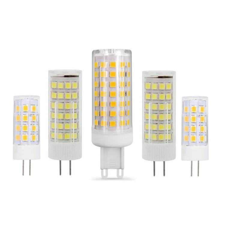 G4 G9 LED AC 220 V 110 V Mini Lampada LED Ampul G4 G9 2835SMD 3 W 5 W 7 W 9 W Işıklar Halojen G4 G9 Spotlight