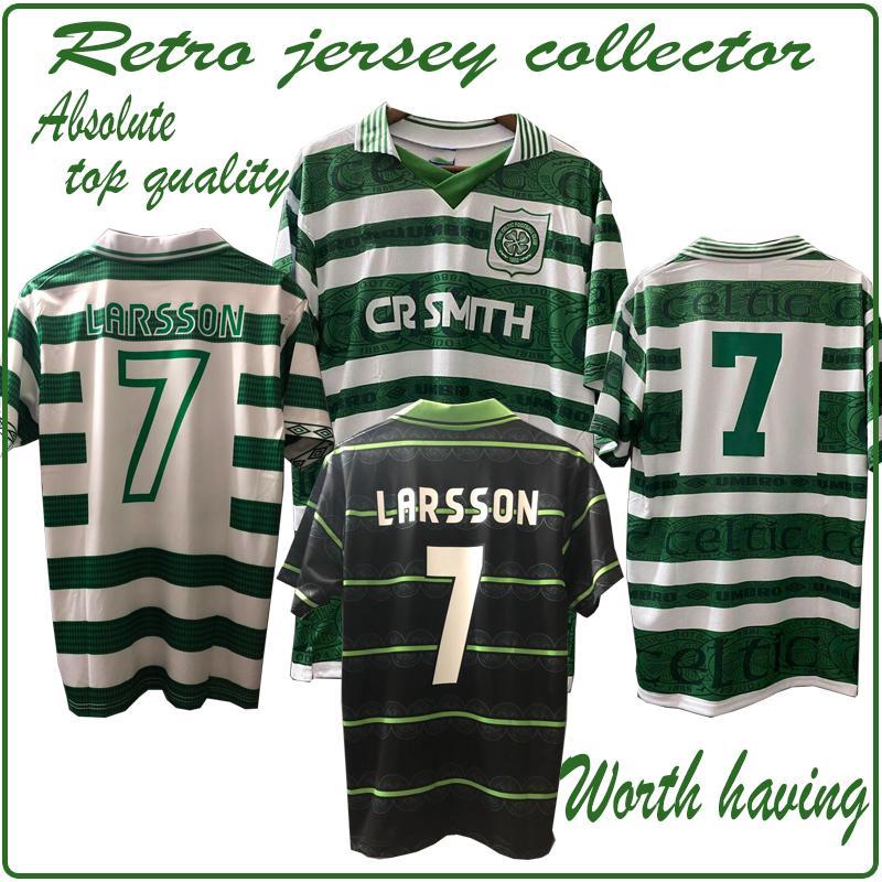top retrò edizione di Jersey collector 95 97 98 99 05 06 LARSSON calcio maglie PRINCIPALE VERDE Brattbakk JOHNSON Wieghorst BURLEY pena di avere