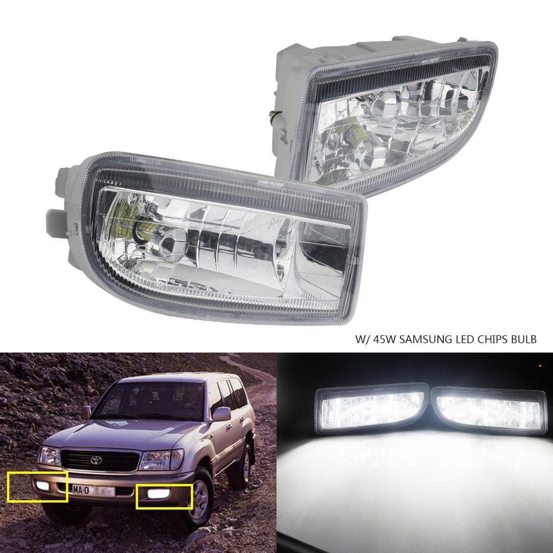 Toyota Land Cruiser 100 HB4 55w Clear Xenon HID Low Dip Beam Headlight Bulbs