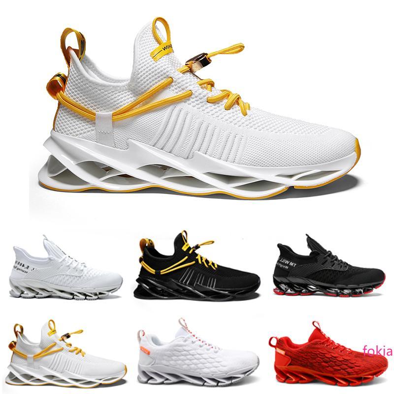 2020 freies Verschiffen Nicht-Marken-Laufschuhe Herren Chaussures Triple Black Weiß Rot Trainer Männer Gehen Sport-Turnschuhe 40-44 Style 20