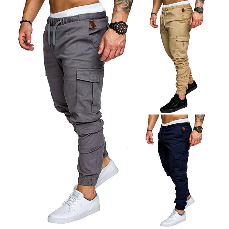 Mens Fashion Pantalons Pocket Casual Confortable Sweatpants Nouveau Arrivée Pantalons Sport Jogger 6 Couleurs 2020 Hot Vente Top Quanlity