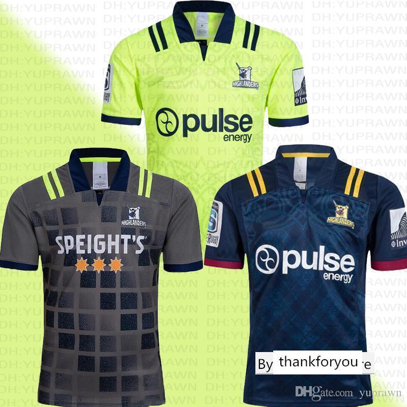 뉴질랜드 고지 슈퍼 홈 원정 럭비 저지 훈련 유니폼 국가 럭비 리그 NRL 셔츠 뉴질랜드 고지 셔츠