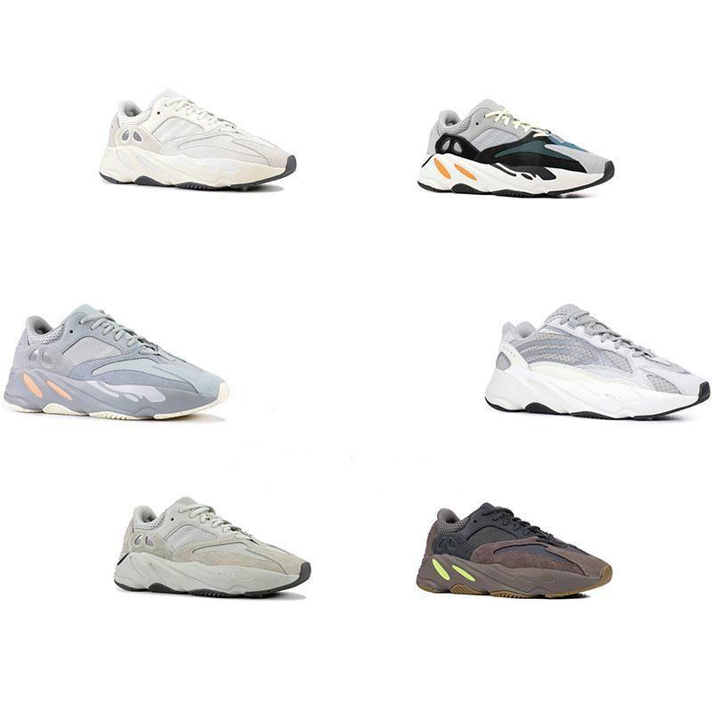 700 V2 Inertia Wave Runner Mens Women Designer Sneakers New Static Mauve Best Quality Kanye Weyezzysyezzyboost350v2
