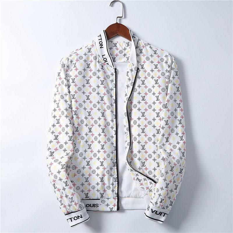LG1314 Mens Designers Giacca con cappuccio Giacche Uomo Moda stampa del modello Giacca a maniche lunghe Zipper all'aperto Windbreaker inverno Streetwear Coat