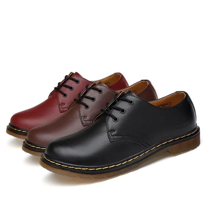 Pelle Casual Uomo Oxford Shoes Formal Shoes Dr Shoes Uomo Mocassini Moda Trendy Flat Black Moccasini morbidi