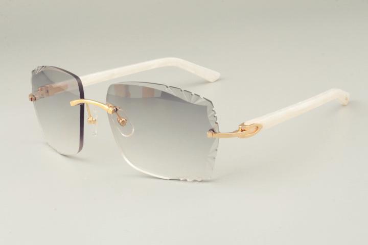Nuevas gafas de sol de moda de lujo directas de fábrica 3524014-D Azteca gafas de sol ultraligeras gafas de sol lente de grabado, personalizado privado, nombre grabado