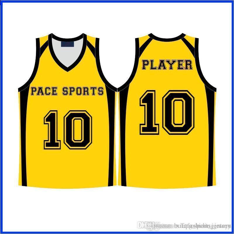 coutume maillots de basket-ball de haute qualité sec shippping rapide rapide LKIHKJBZX jaune bleu rouge