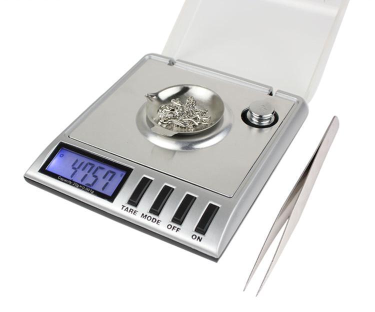 50 adet 0.001 g 20 g 0.001 g 20 g Dijital Miligram Gram Ölçekli denge ağırlığı Elmas Takı aracı Yeni Ücretsiz Kargo