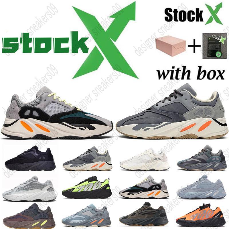 2020 Novo 700 V2 corredor da onda Inércia Tephra Cinza contínuo Utility Preto Vanta Runing sapatos masculinos desenhista calça Mulheres estática Sneakers com caixa