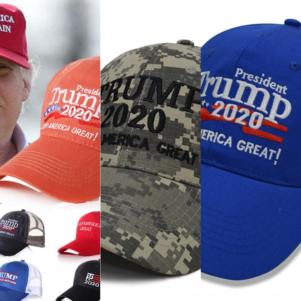 jOXiO Donald Trump 2020 Große Cap Make America Baseball Wieder Hut Stern StripedFlag Sport drucken Außenkappe LJJA3625