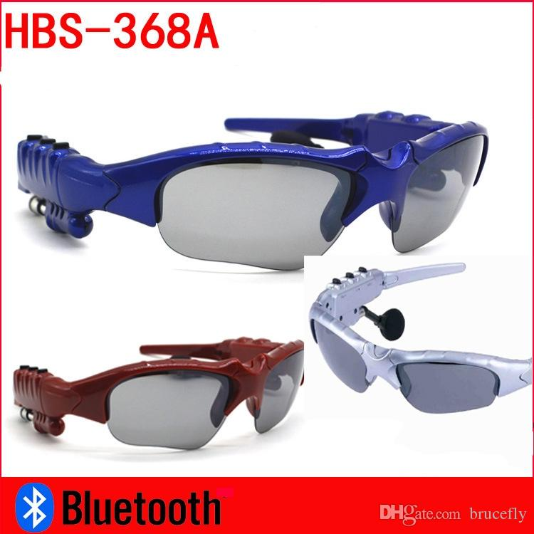 Sunglasses Bluetooth Headset Outdoor Glasses Earbuds Music with Mic Stereo Wireless Headphone MP3 Player Bluetooth Phone Wireless Earphones