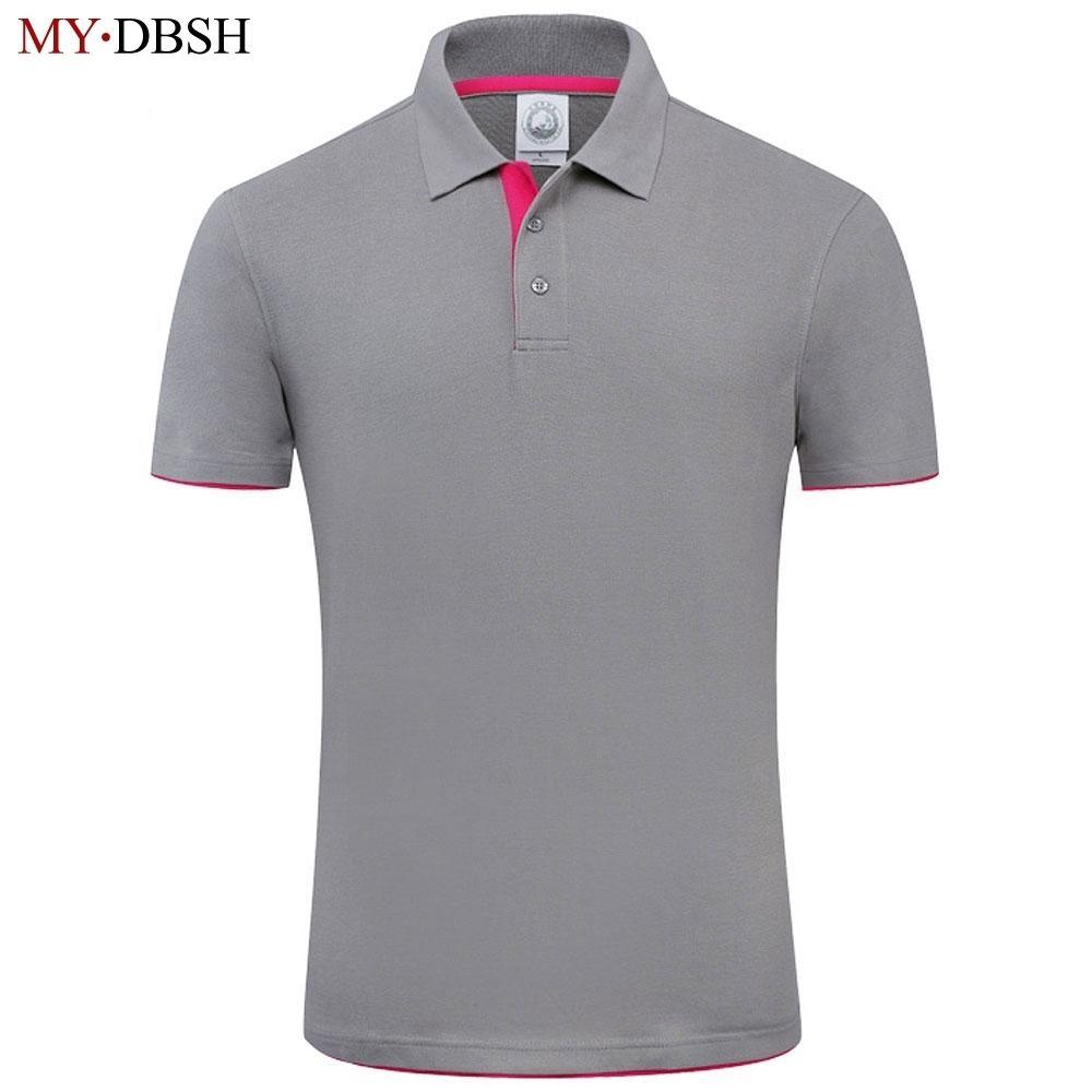 New Mydbsh For Designer Soft Cotton Short Sleeve Polo Shirt Men Famous Brand Clothing SH190718