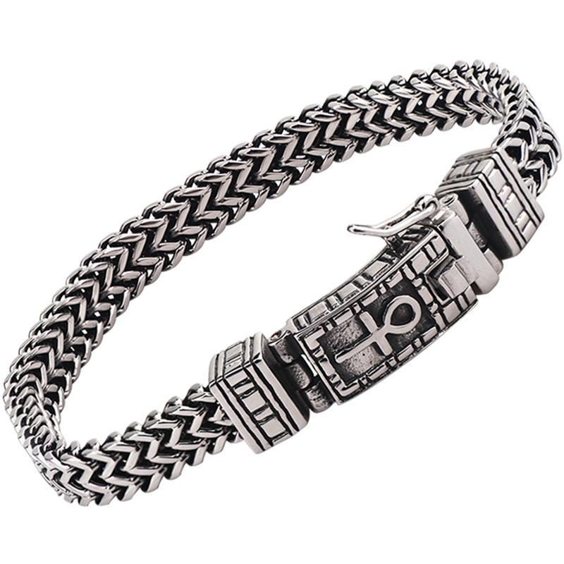 Braccialetto Horus di alta qualità per gioielli di moda in acciaio inox