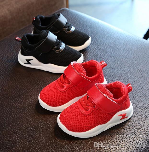 Us tamanho 5.5-12.5 crianças calçados casuais esporte meninos e meninas sapatilhas tênis para crianças para crianças