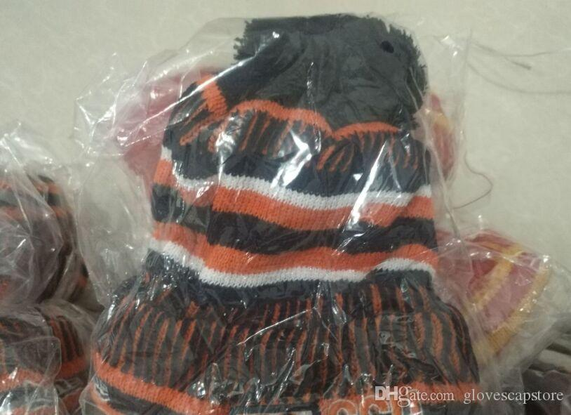 2020 Sideline Beanies Beanies Hats American Football 32 teams Beanies Sports winter knit caps Beanie Skullies Knitted Hats drop shippping
