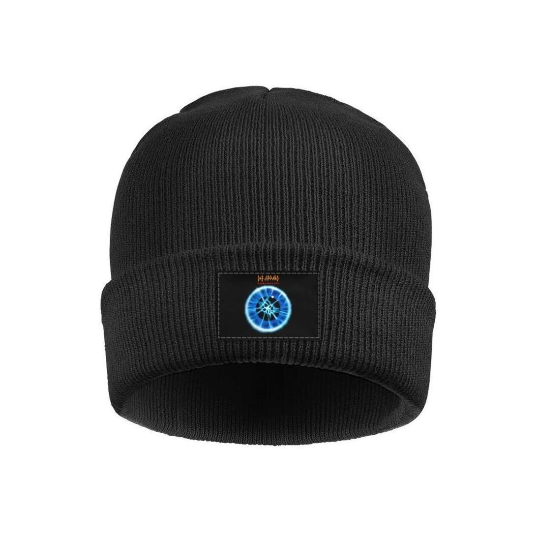 Moda Def Leppard bant Adrenalize Kış Kayak Beanie Kafatası Şapka Rulo 3 Love Bites dünya turu Histeri Albüm