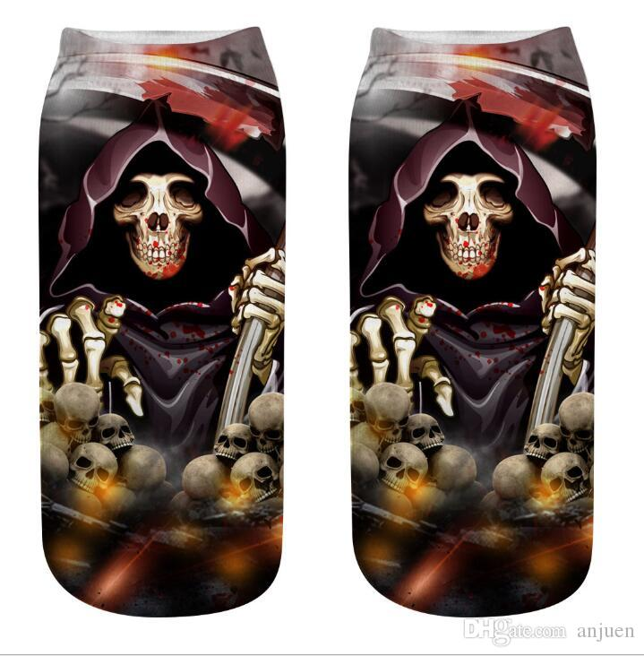 Halloween Unisex Funny Casual Crew Socks Athletic Socks For Boys Girls Kids Teenagers