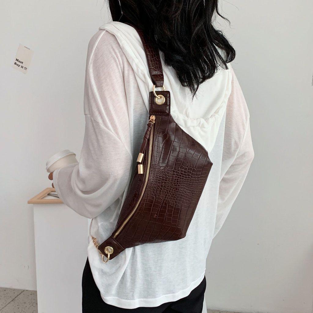 Women Waist Pack 2019 Fashion Pockets Chest Bag belt bag Casual Shoulder Messenger Bags rinonera sac banane