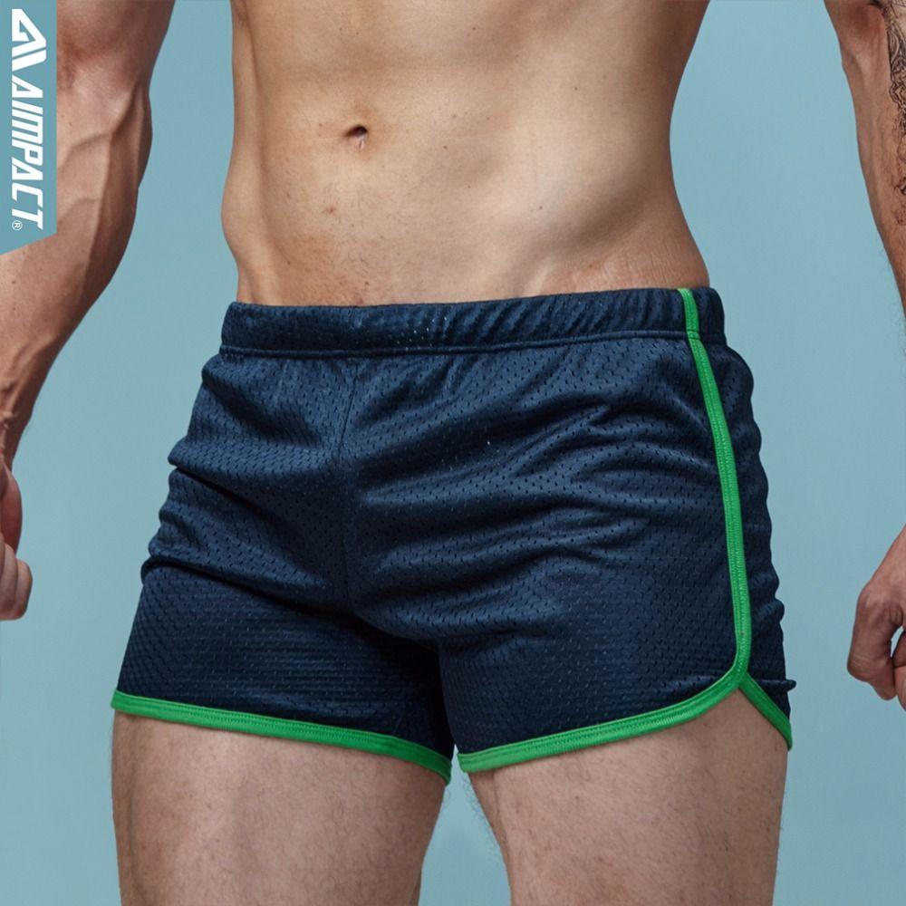 Aimpact Shorts Homens Moda Clássico Sólida Malha Dos Homens Shorts Secagem Rápida Varejista Troncos dos homens AMC11 Verão Elástico Na Cintura Mens Shorts