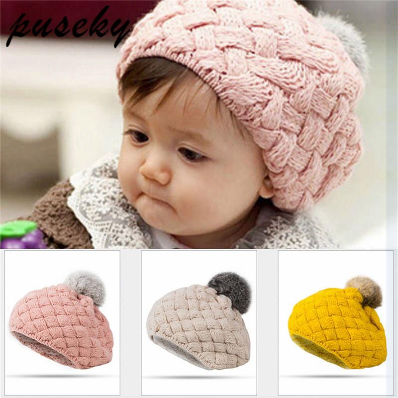 American Trends Unisex Hat Baby Cotton Beanie Toddler Infant Kids Soft Cute Cap