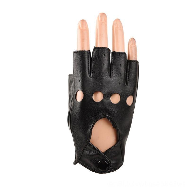 Gants en cuir de haute qualité Portable pour les enfants de filles de garçon Finger Autres Gants de golf Produits Golfless enfants Finger moitié mitaines G Respirant