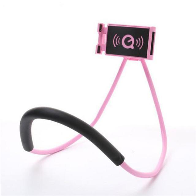 Lazy cuello Soporte universal de teléfono celular titular de soporte Lazy soporte de bricolaje gratuito 360 grados de rotación monta con la función múltiple