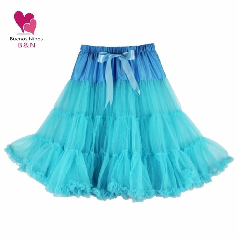 Summer Style Women Soft Fabric 65cm Long Sexy Chiffon Pettiskirt Single Skirts Womens Petticoat Y190428