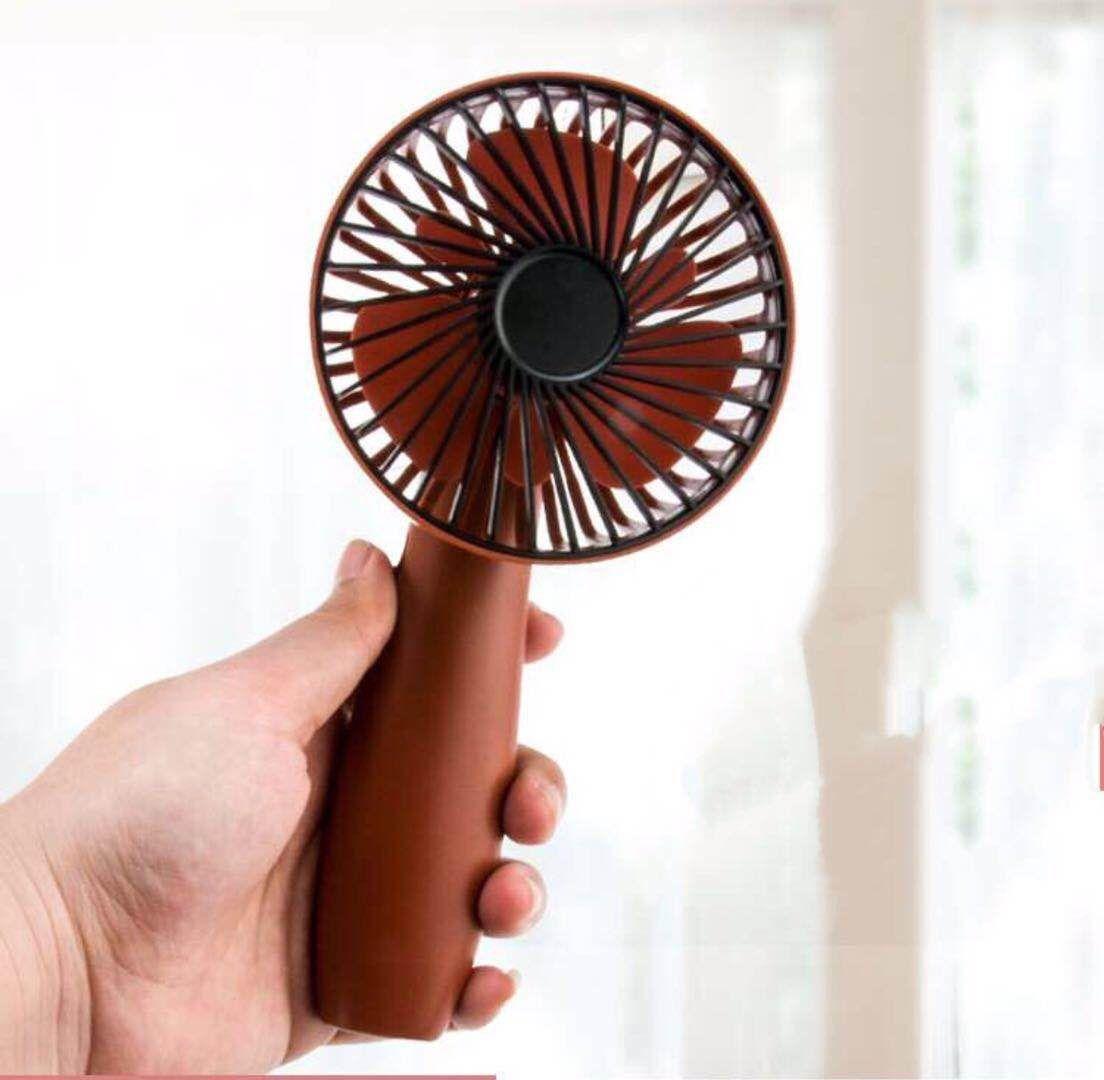 USB şarj küçük sevimli taze fan kolu el Mini güçlü fan cep telefonu dirsek el fan