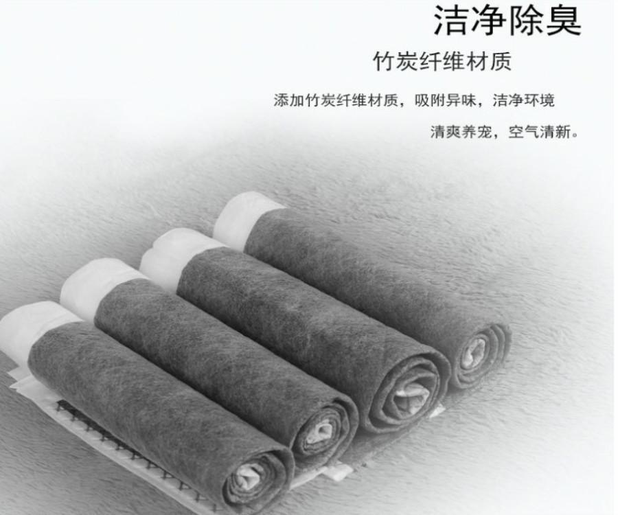 Fabrika toptan köpek idrar pedleri Golden Retriever bezi karakalem deodoran bezi köpek bakım ürünleri bezi bambu