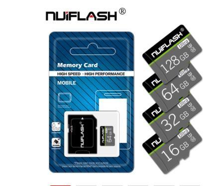 100٪ الأصلي مايكرو بطاقة الذاكرة الرقمية المؤمنة CLASS10 TF بطاقة ذاكرة القرص 8GB 16GB 32GB 64GB 128GB بطاقة ذاكرة فلاش لsamrtphone والجدول PC