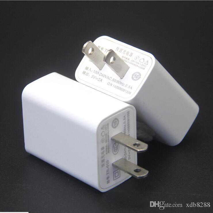 DHL Free Shipping good quality 5V 1A US Plug Travel Charger USB Home Wall Charger Charging Mobile Phone For Huawe Xiaomi