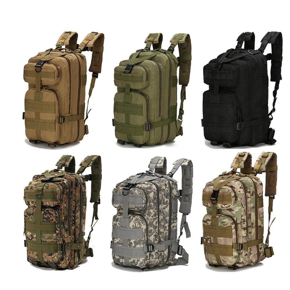 Militaire Sac /à Dos 3 Jours Agression Molle Sac D/épaule pour Sports Plein Air Randonn/ée Chasse Entra/înement Camping avec Laptop Compartiment/&USB Port Charge MOSISO 30L Sac /à Dos Tactique