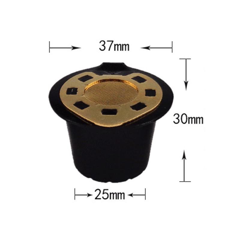 Nachfüllbar Kaffeekapseln Pods Kaffee Herstellung von Filter CupStainless Für Nespresso