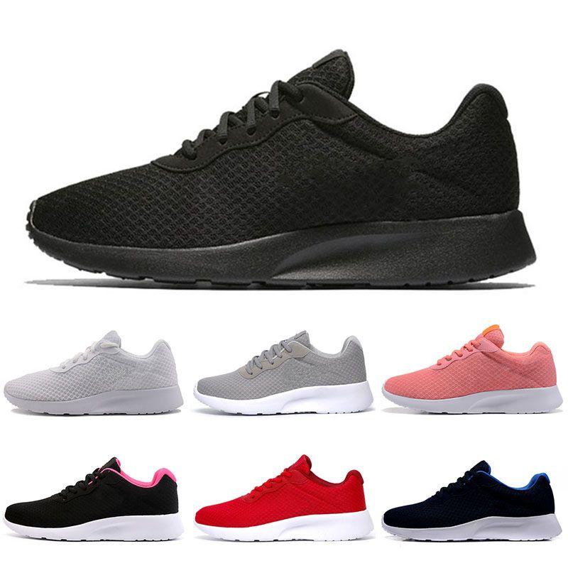Compre Nike Shoes Tanjun Zapatos Para Correr Para Mujeres Y Hombres Malla  Con Zapatos Deportivos Negros Olímpicos London London Zapatillas De Deporte  ...