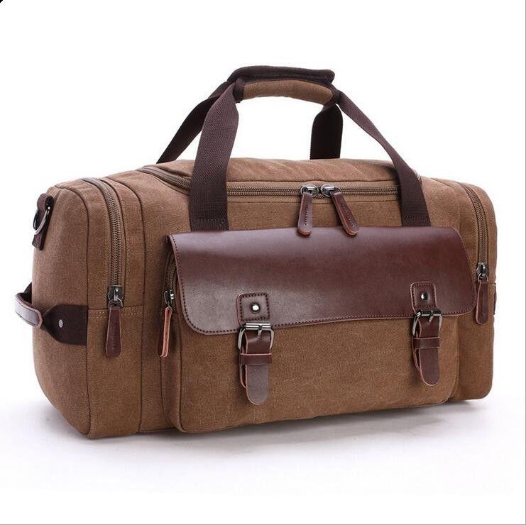 HBP Große Größe Leinwand Duffel Taschen Frauen Männer Reisen Gepäcktasche