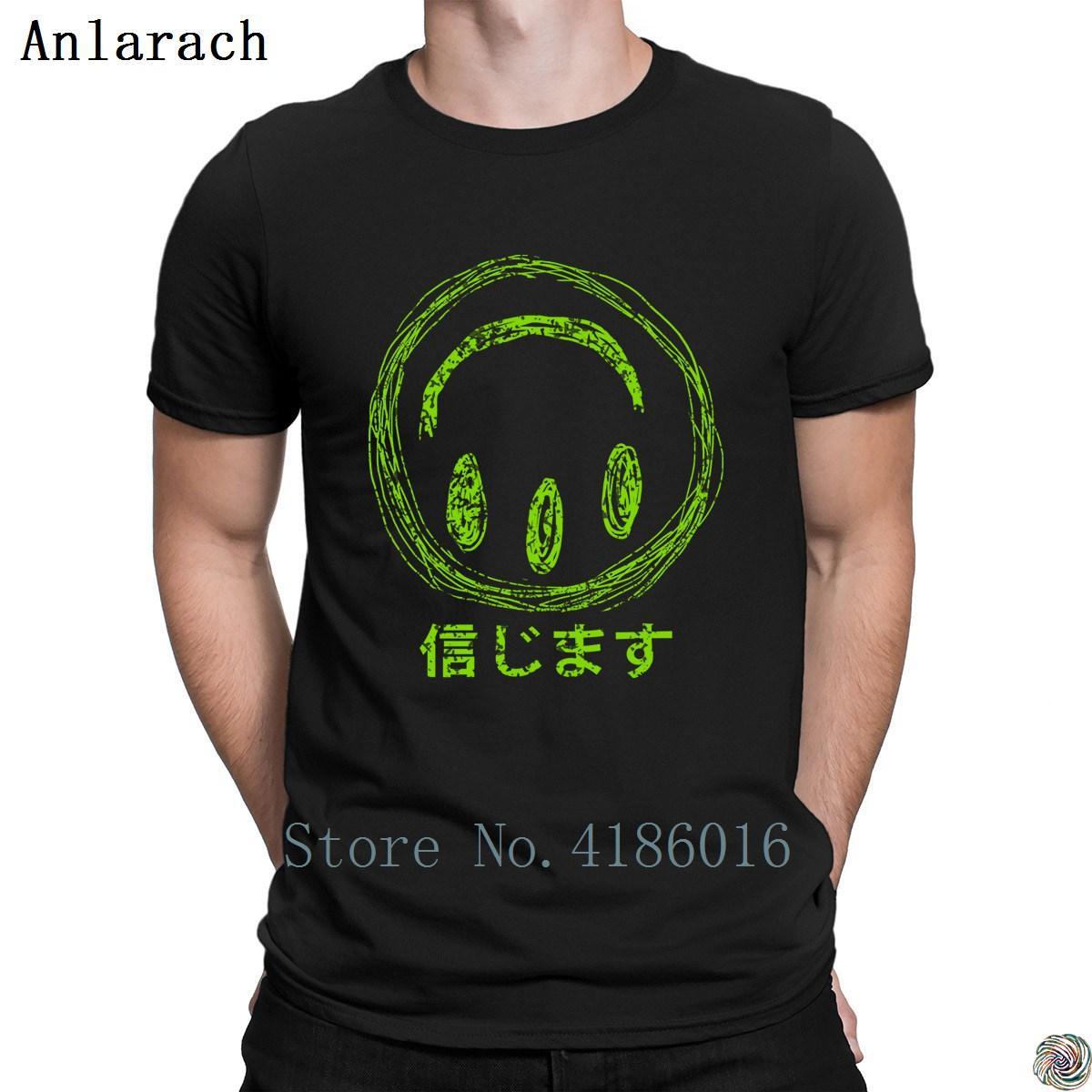 Ich will, T-Shirts der neuen Art-Sommer-Art-Fit Buchstaben T-Shirt für Männer personifizierten männlichen Hip-Hop-O-Ausschnitt Believe