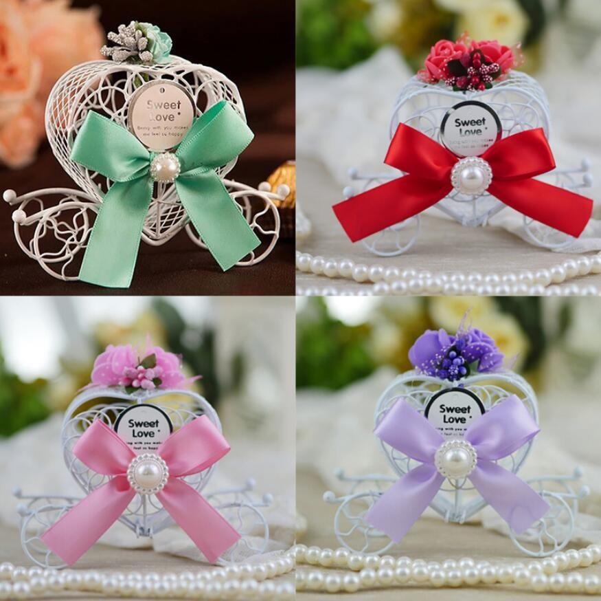En forme de coeur transport Boîte De Bonbons Bonbons Boîtes cadeaux fête d'anniversaire de mariage Décoration de Noël Favors anniversaire douche cadeau Wrap