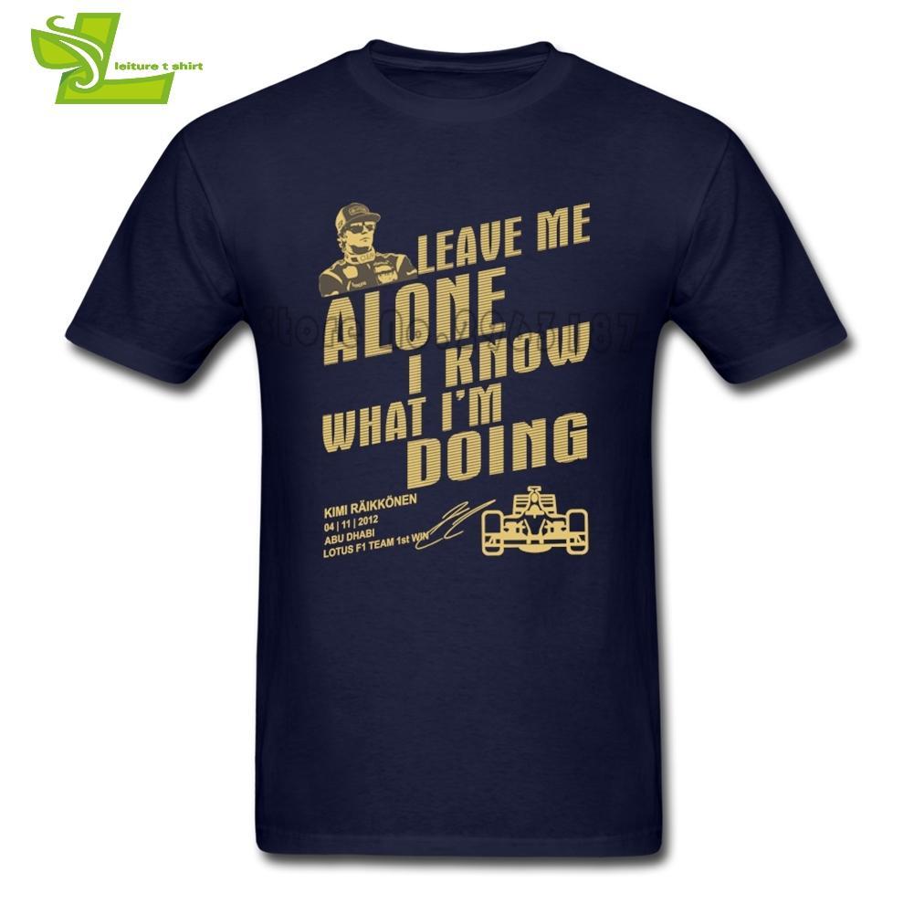 Kimi Raikkonen T Shirt Les Gars Nouveau Viennent Simple Tee Shirts Casual T-shirts Confortables Hommes 100% Coton Nouveauté Tops Teenboys