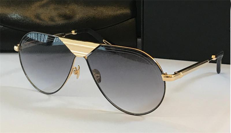 Top Luxury K Gold Men Eyewear Car Brand Designer Sunglasses The Linear Fashion Designer Pilot Frame Glasses Top Quality Outdoor Uv400 Lens Heart Shaped Sunglasses Mirrored Sunglasses From Gift1004 46 54 Dhgate Com