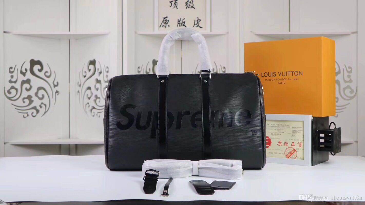 A A A 2019 Nueva L1ouisvutt0n bolsos de las mujeres de un solo hombro bolsa de viaje Paquete cesta con envío gratuito Men S Bolsas Mochila 41418 41418
