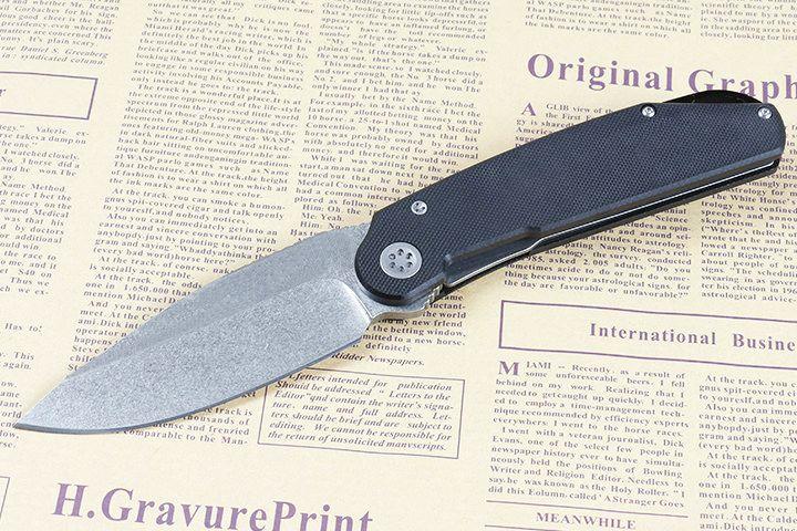 DHL доставка к 2020 году новых шарового подшипника выживания складной нож D2 камень мыть каплепадения лезвие черный G10 ручка EDC карманный нож ножи
