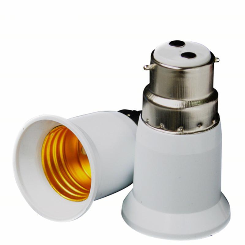 B22 à E27 Convertisseur Titulaire Lumière 100-220V 3A B22 E27 base Adaptateur Convertor