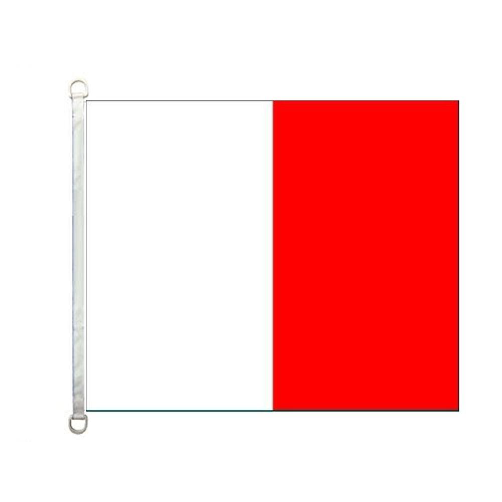 Boote und Schiffe Flagge, Maritime Flagge, Meer Civil Fähnrich Flagge, Buchstabe H Bootsflagge