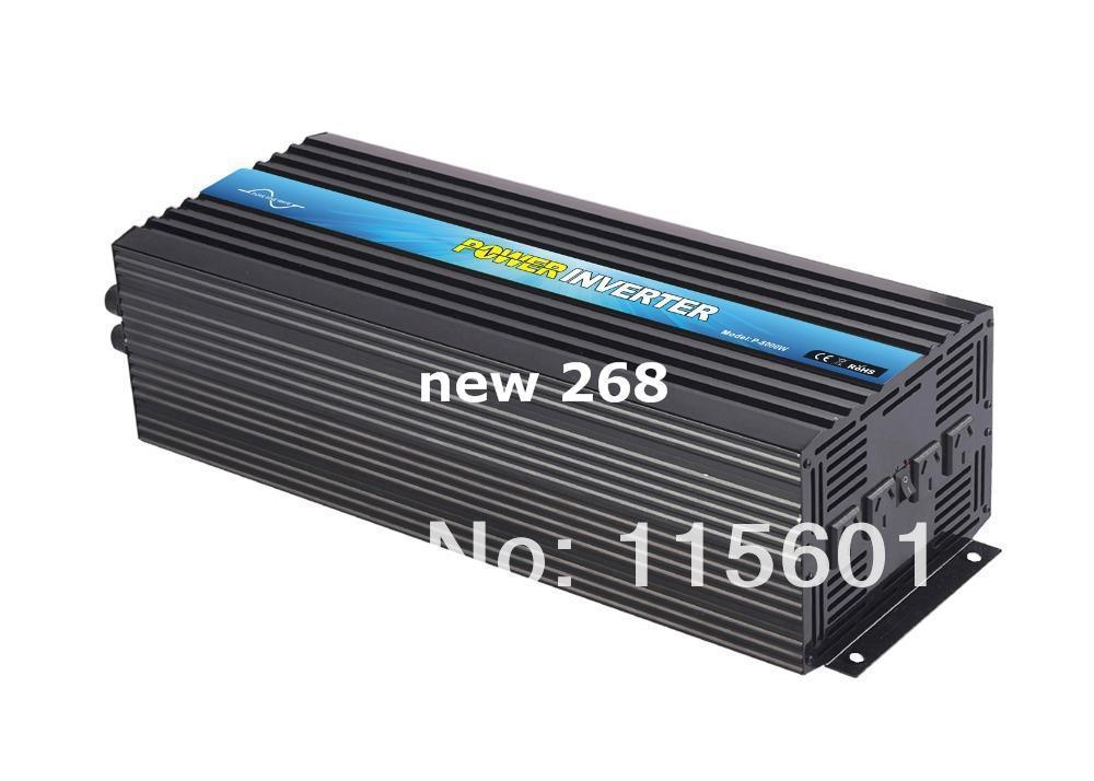 Freeshipping High frequency Pure Sine Wave Solar Power Inverter 5000W DC 24V TO AC230V