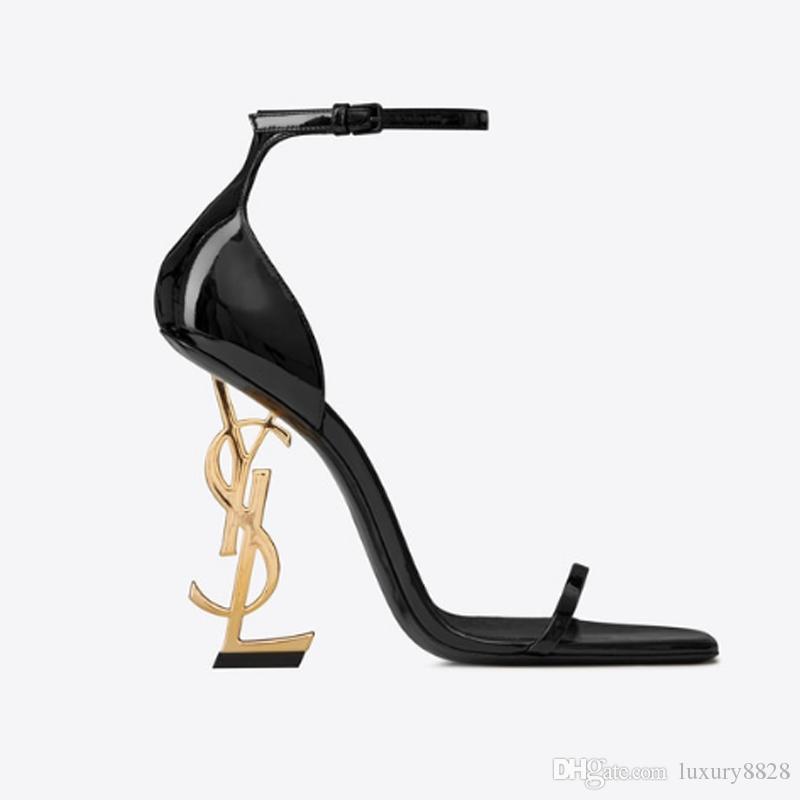 2020 nova moda senhoras saltos altos requintado e mulheres confortáveis cinta cartas de salto alto botas curtas de couro material de tamanho 35-41