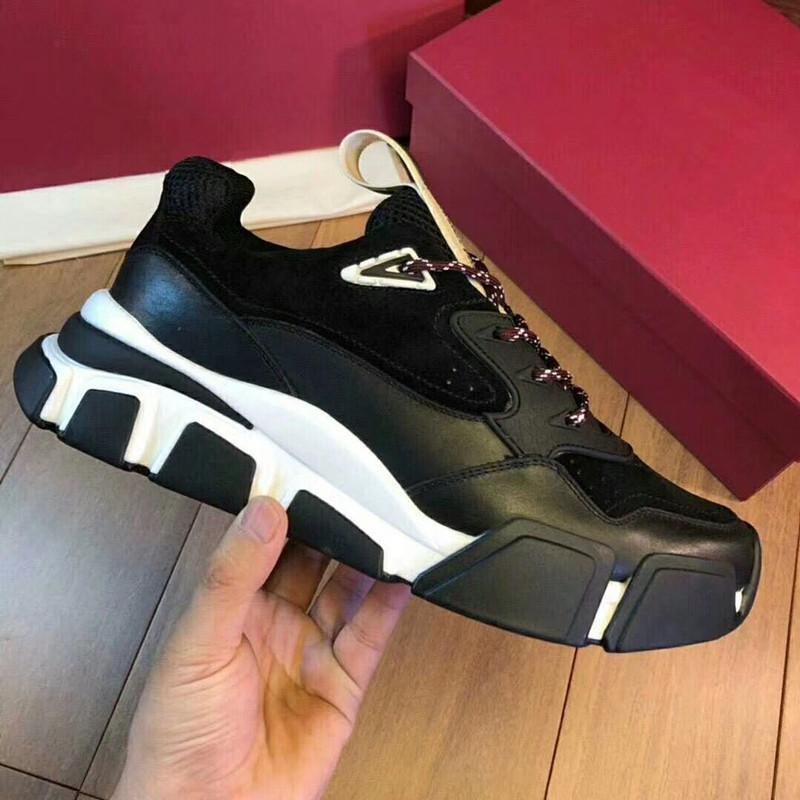 2019 Homens Mulheres Designer de Luxo Shoes melh Moda Formadores Sneakers Shoes Casual bvx01