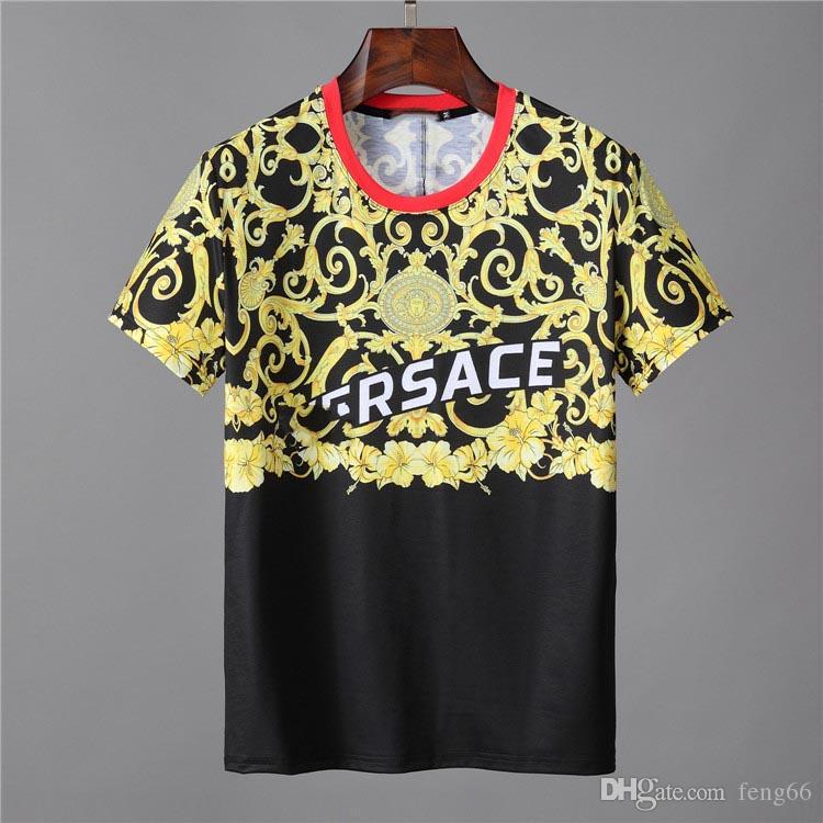 남성 새 브랜드 머니 편지 인쇄 T- 셔츠 반팔 Tshirt 디자이너 눈 Tes 남성 패션 루스 Streetwear 티셔츠 탑스 # 002