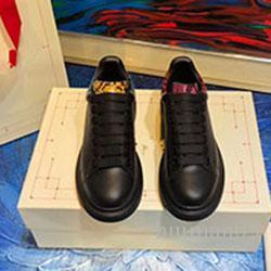 2020 neue Luxus-Leder-beiläufige Schuh-Frauen-Entwerfer-Turnschuh-Männer Schuh-echtes Leder-Mischfarbe Original-c0160
