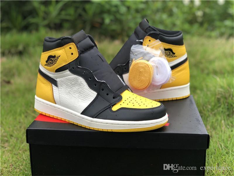 OG Yellow Toe 1S Black Retro