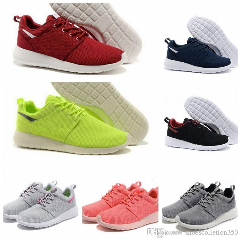 Nike Roshe Nova Tanjun 1.0 3.0 Correr Running Shoes homens mulheres preto baixo Leve Respirável Londres Esportes Olímpicos Tênis mens Formadores tamanho 36-45